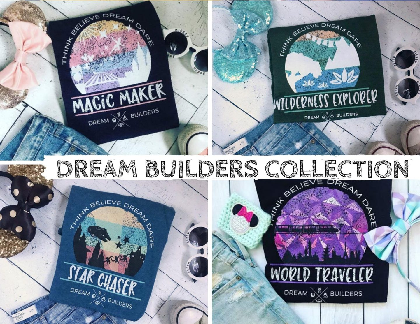 Disney Parks Collection shirts for Vacation