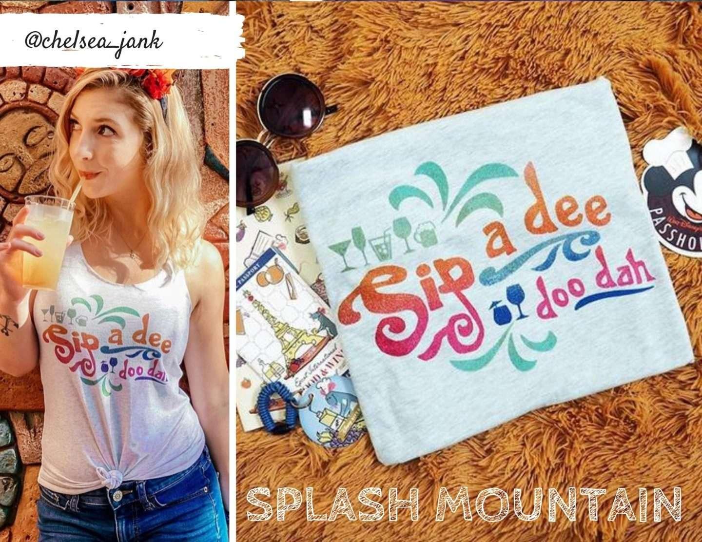 Food and Wine Disney Sip a Dee Do Dah Splash Mountain