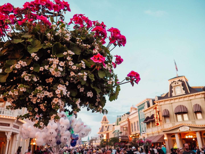 Main Street at Disney World