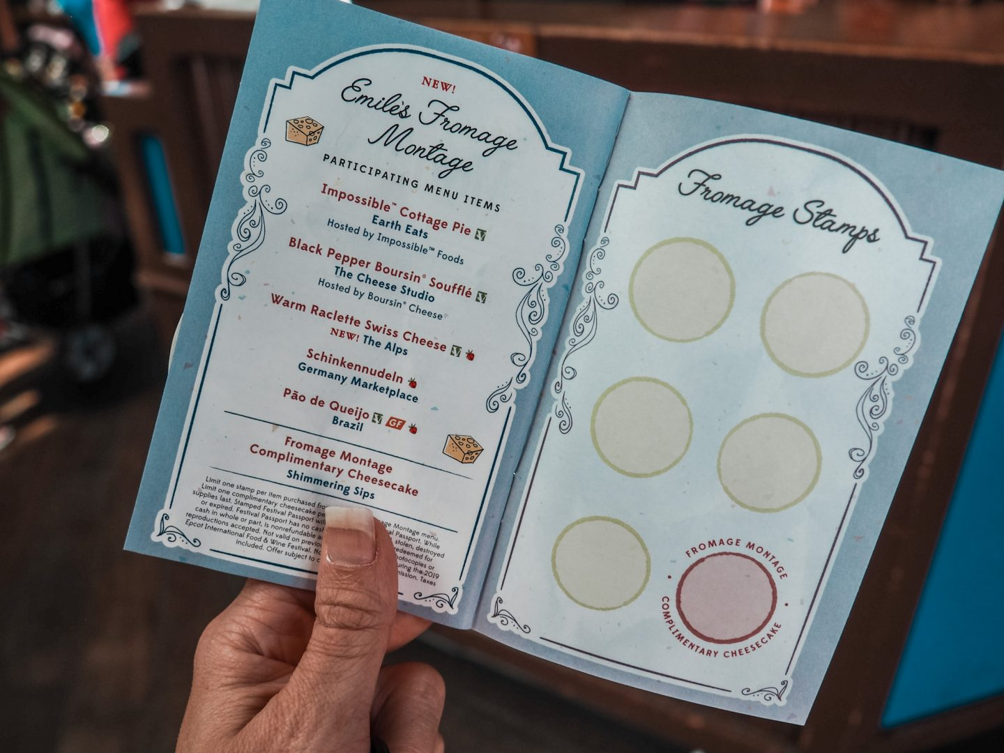 Emile's Fromage Montage Cheese Challenge in EPCOT Walt Disney World