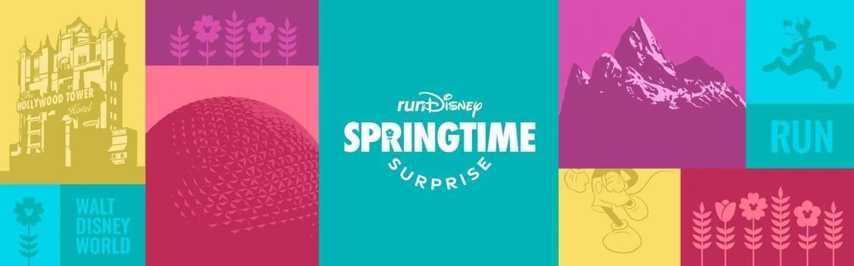 runDisney Walt Disney World NEW Race for 2022, Springtime Surprise Weekend 2022