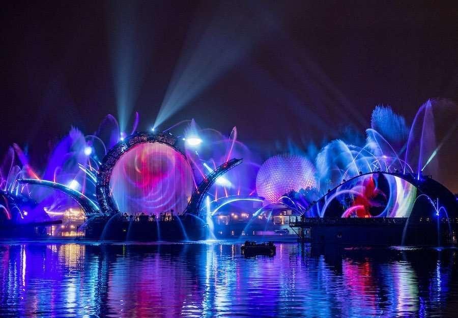 Harmonius EPCOT Nighttime show for the 50th Anniversary