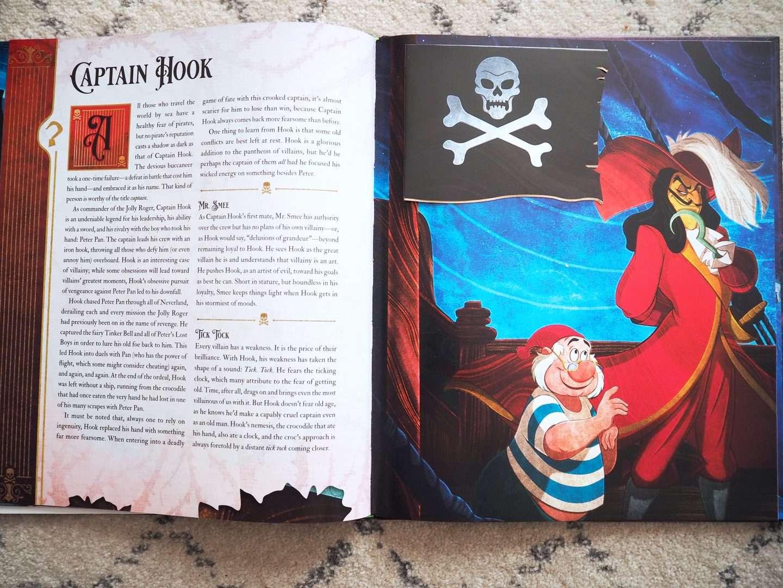 Captain Hook Disney Villians Book