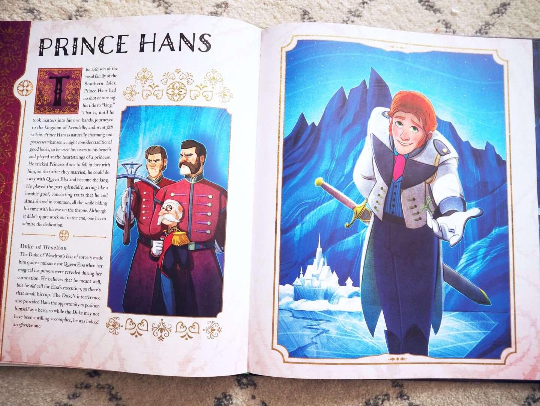 Prince Hans Disney Villains Book