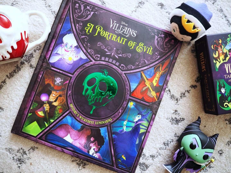 Disney Villains Portrait of Evil. A Hisotry's Wickedest Luminaries