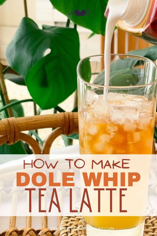 How to make a Dole Whip Tea Latte