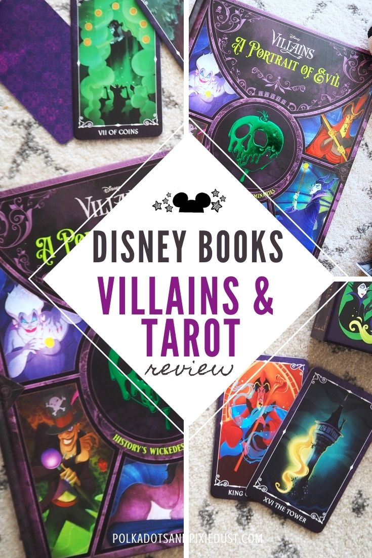 Disney Villains Portrait of Evil Book and Tarot Set Review!