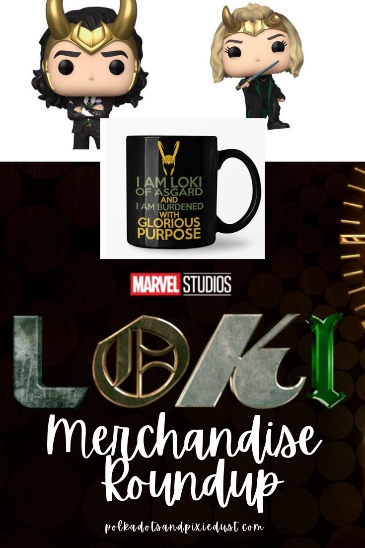 Disney Plus Marvel LOKI Merchandise Round Up! All our favorite merchandise from Loki! From the TVA to variant to Miss Minutes and the Loki alligator! Here are our favorites. #disneygifts #lokimerchandise #marvelgifts