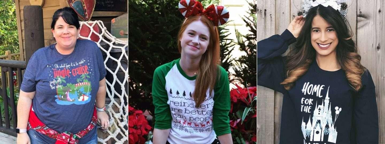 Disney Christmas Shirts for a Disney Vacation