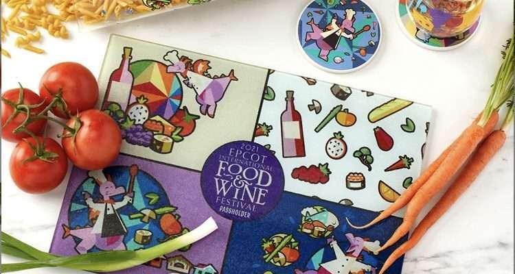 Epcot International Food and Wine Festival Merchandise 2021