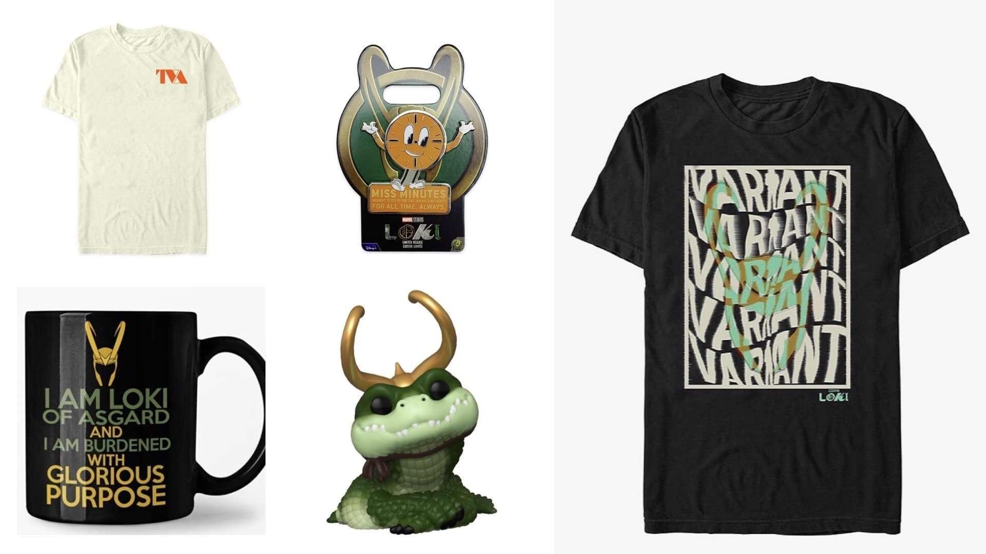 Loki Merchandise Disney Plus Marvel Gifts Round Up