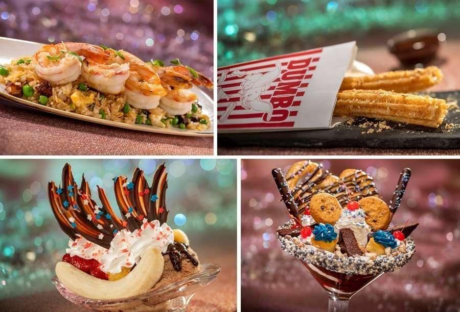 Snacks at Magic Kingdom for the 50th anniversary