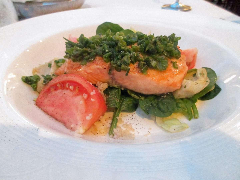 Tritons lunch on disney wonder