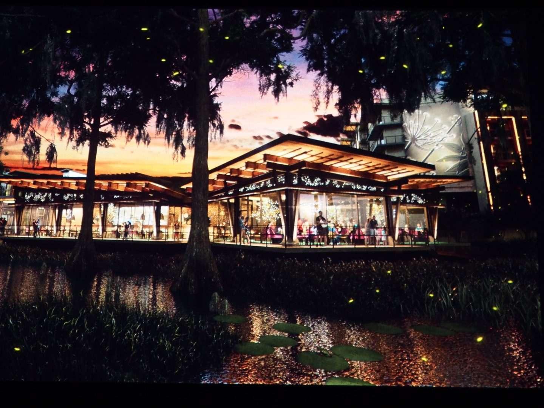 Disney D23 EXPO Tiana Restaurant ni Reflections Lakeside Lodge
