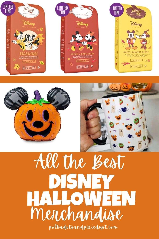 Where to find Disney Halloween Merchandise this year! #disneyhalloween #halloweendecor #halloweendecorations #polkadotpixies