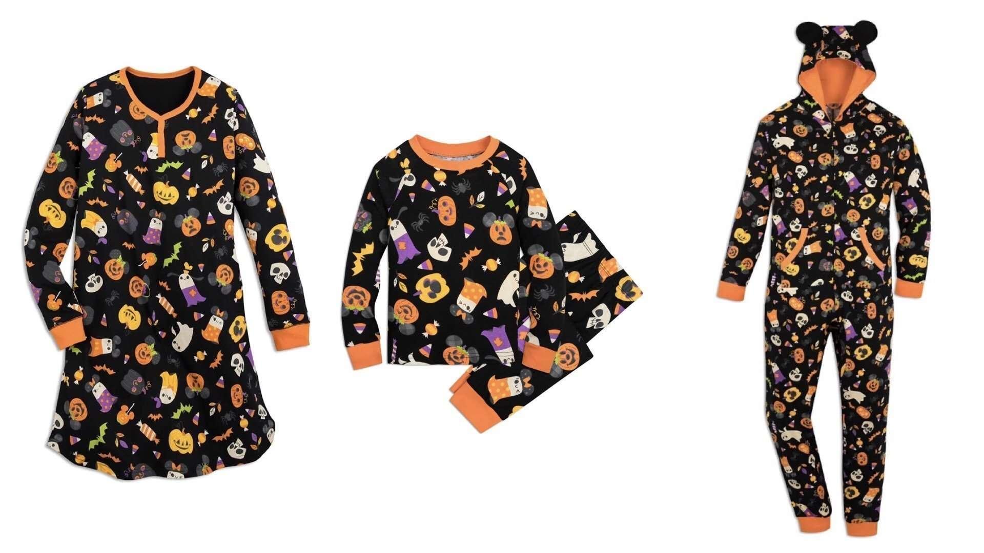 Disney halloween pajamas