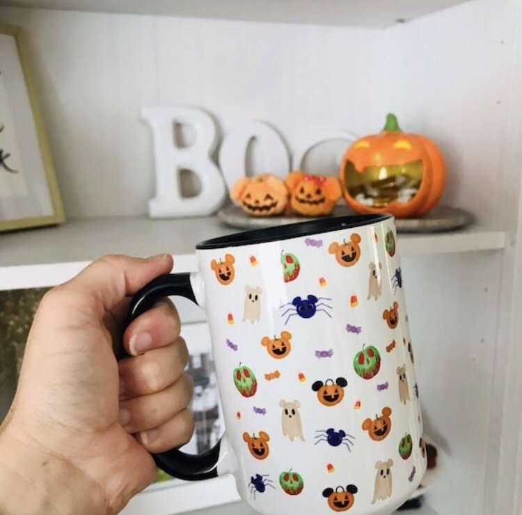 disney halloween mug