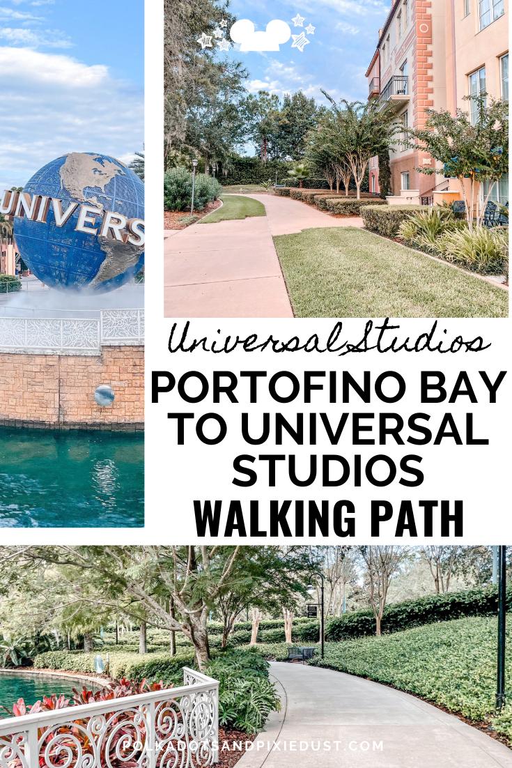 Skip the transporation and parking costs and walk from Universal Studios to Portofino Bay Hotel instead! Universal Studios Tips#polkadotpxiies #portofinobayhotel #wizardingworld
