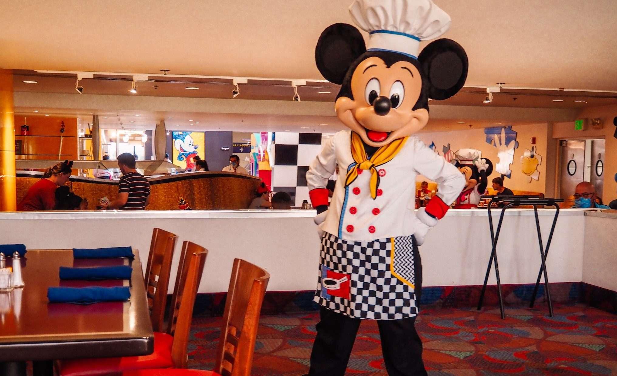 Chef Mickey's Breakfast at Disney's Contemporary Resort