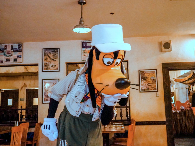 Goofy at Animal Kingdom Tusker House