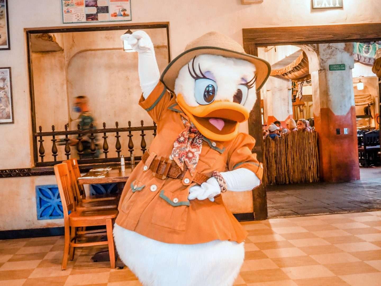 Tusker House Characters at Walt Disney World