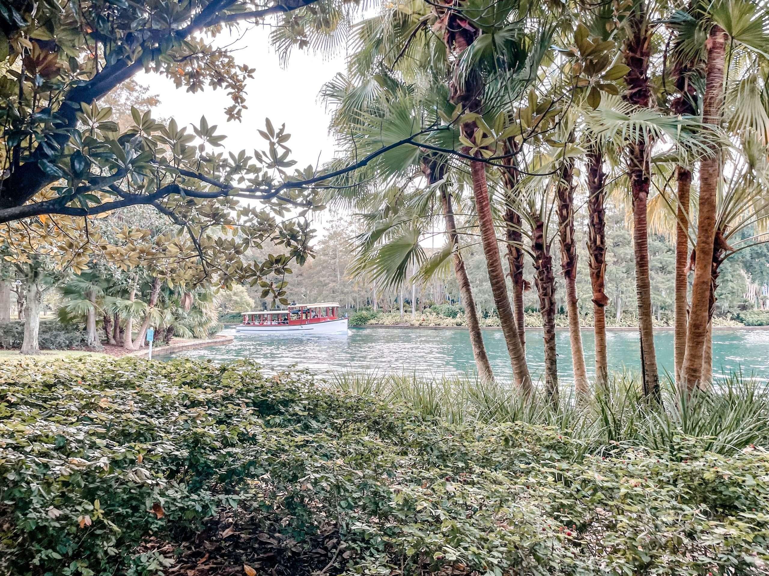 walking path portofino bay
