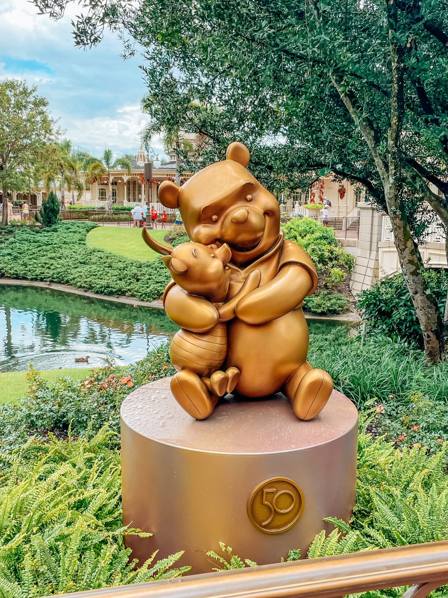 50th Anniversary Statues at Walt Disney World
