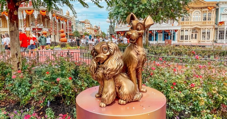 50th Anniversary Statues at Walt Disney World and Where to Find Them