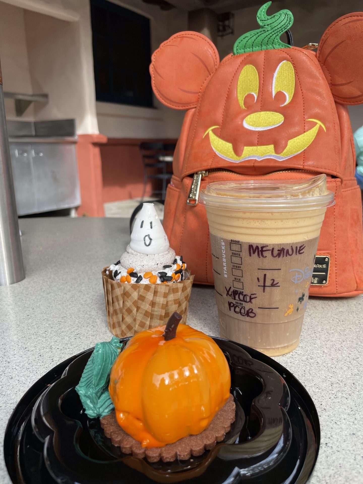 Pumpkin Mousse at Disney Hollywood Studios