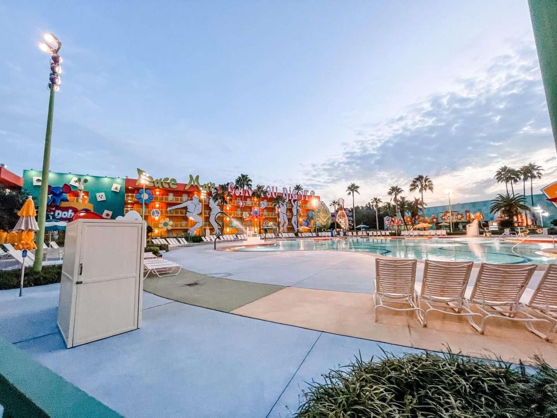 Disney Resort Pop Century Pools