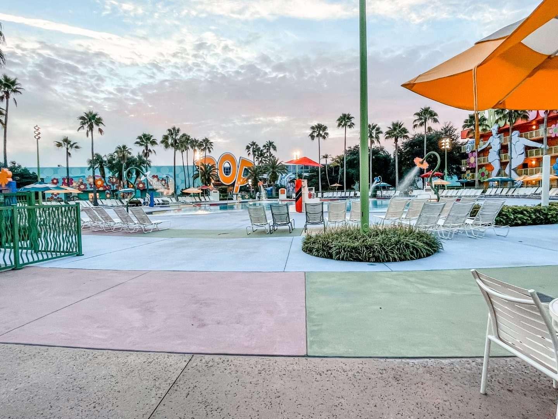 Pop Century Resort Grounds