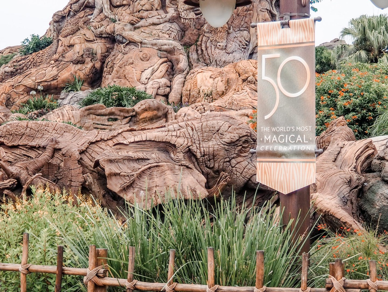 Walt Disney World in 2022 50th anniversary
